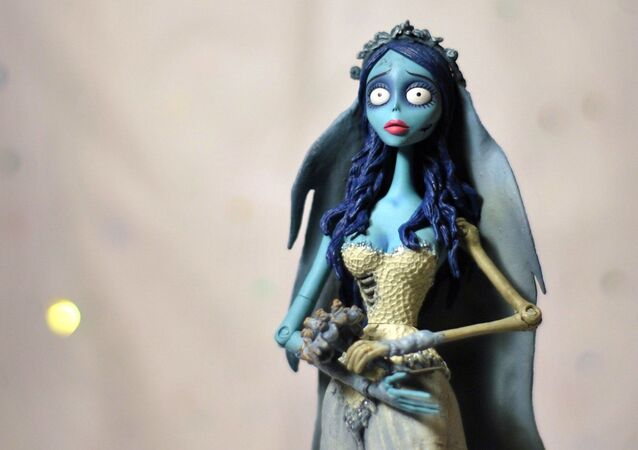 El cadáver de la novia, película de Tim Burton