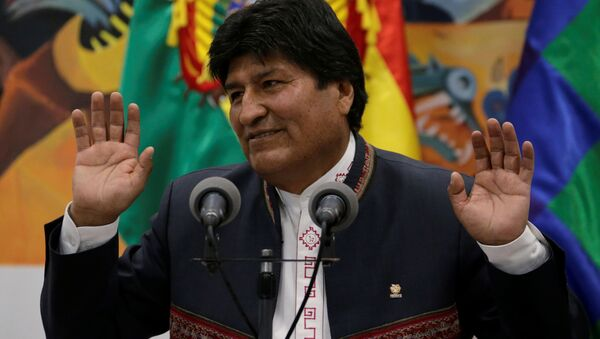Evo Morales, reelecto presidente de Bolivia - Sputnik Mundo