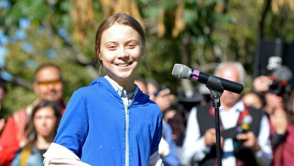 Greta Thunberg, activista ambiental sueca - Sputnik Mundo