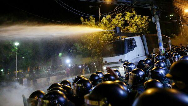 Los disturbios en Bolivia tras la reelección de Evo Morales - Sputnik Mundo