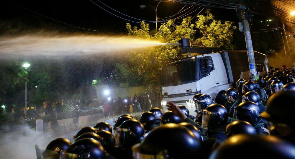 Los disturbios en Bolivia tras la reelección de Evo Morales