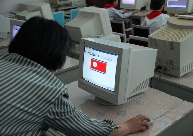 Una escuela norcoreana