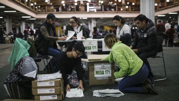Elecciones en Colombia (archivo) - Sputnik Mundo