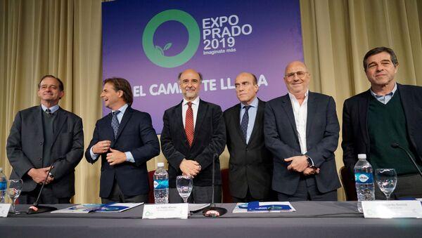 Candidatos de las elecciones presidenciales de Uruguay - Sputnik Mundo