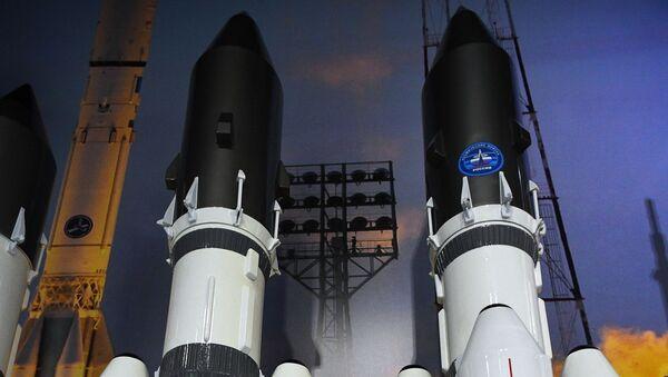 Maquetas del cohete Angara A5 - Sputnik Mundo