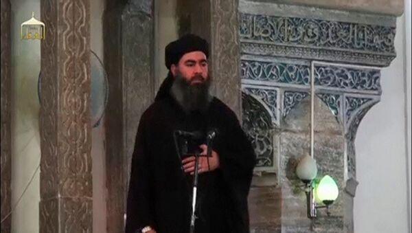 Abu Bakr Baghdadi, líder terrorista del ISIS - Sputnik Mundo