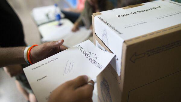 Las elecciones en Argentina (archivo) - Sputnik Mundo