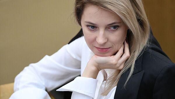 Natalia Poklónskaya, diputada de la Duma Estatal, Cámara Baja del Parlamento ruso - Sputnik Mundo