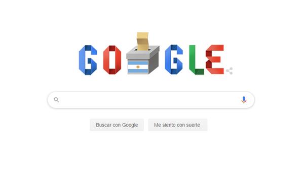 Google dedica un 'doodle' a las elecciones argentinas - Sputnik Mundo