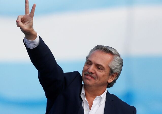 Alberto Fernández, candidato a presidente en Argentina