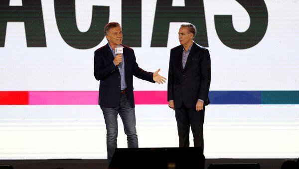 Mauricio Macri, sede Juntos por el Cambio - Sputnik Mundo