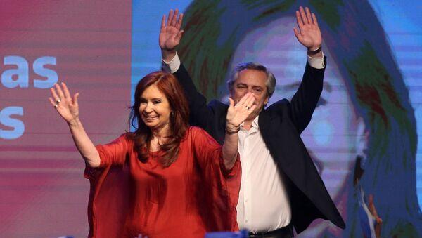 Cristina Fernández - Sputnik Mundo