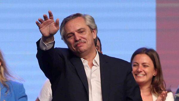 Alberto Fernández, presidente electo de Argentina - Sputnik Mundo