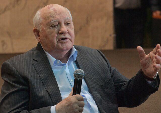 Mijaíl Gorbachov, exlíder soviético (archivo)
