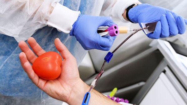 Donación de sangre - Sputnik Mundo