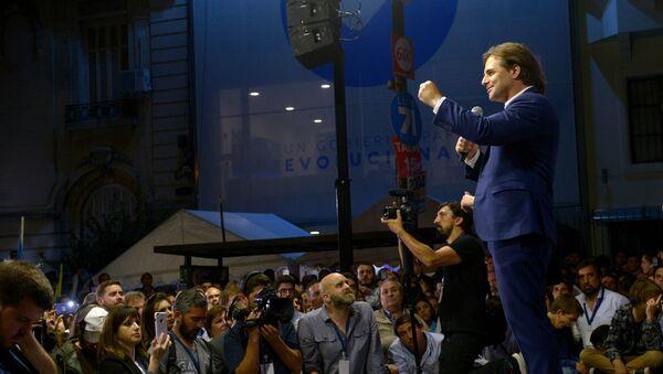Luis Lacalle Pou, el candidato de las elecciones presidenciales en Uruguay - Sputnik Mundo