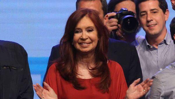 Cristina Fernández de Kirchner, senadora y vicepresidenta electa de Argentina - Sputnik Mundo