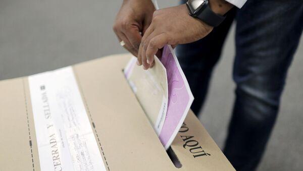 Elecciones locales en Colombia - Sputnik Mundo
