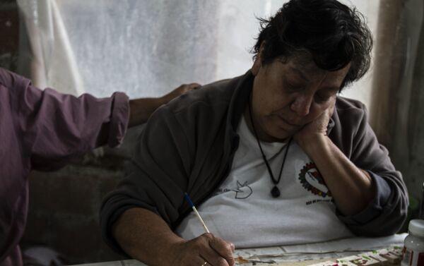 Patricia Chávez, fundadora de cooperativa Izalco, volcán de fuego, de salvadoreños en México - Sputnik Mundo