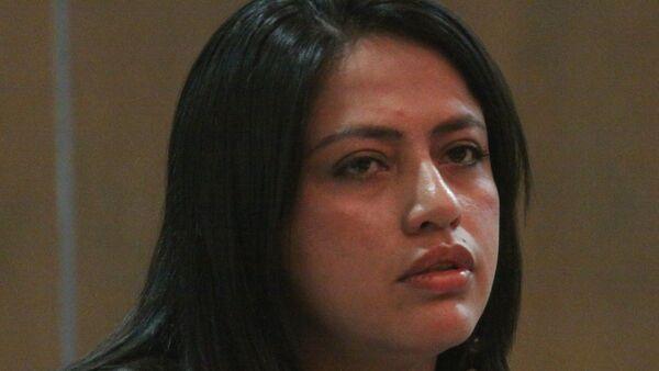 Paola Pabón, prefecta de Pichincha - Sputnik Mundo