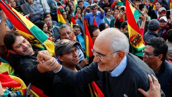 Carlos Mesa, candidato opositor boliviano - Sputnik Mundo