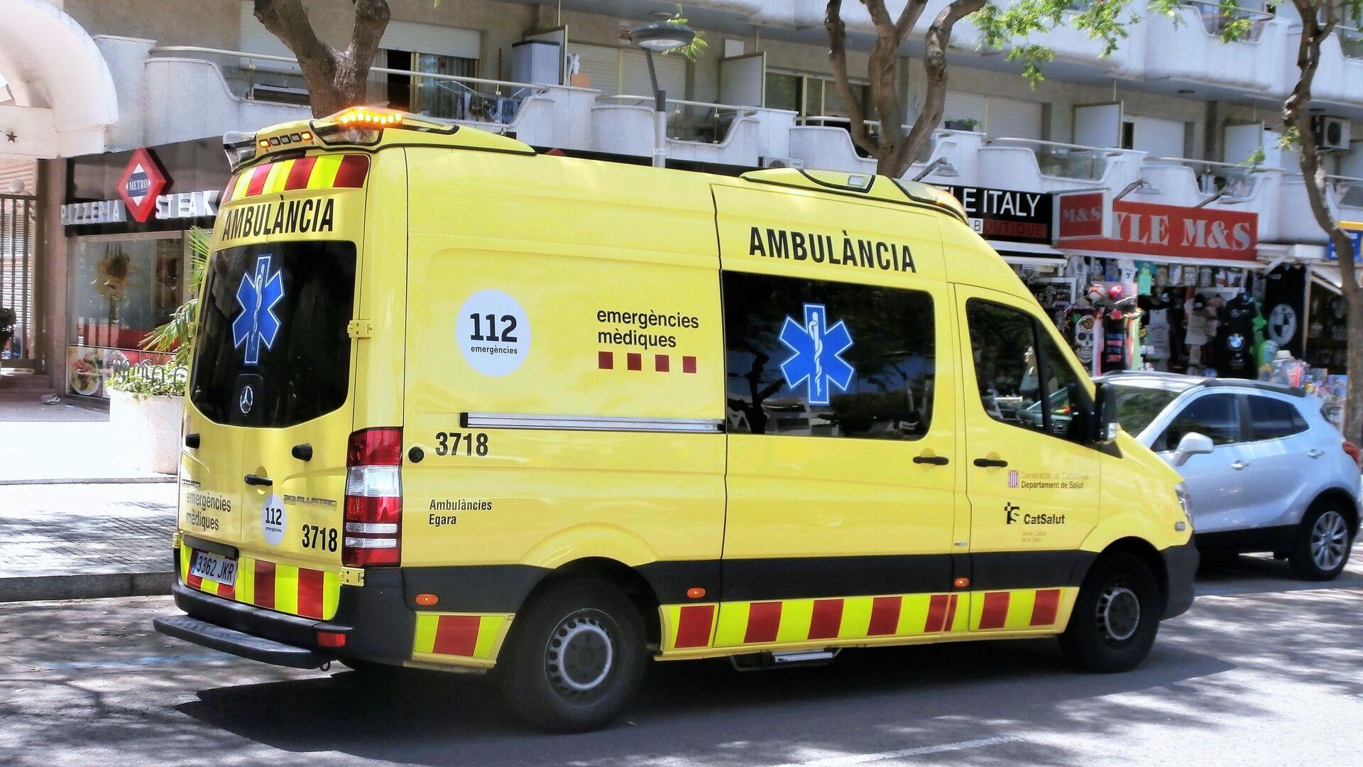Ambulancia catalana - Sputnik Mundo, 1920, 02.03.2021