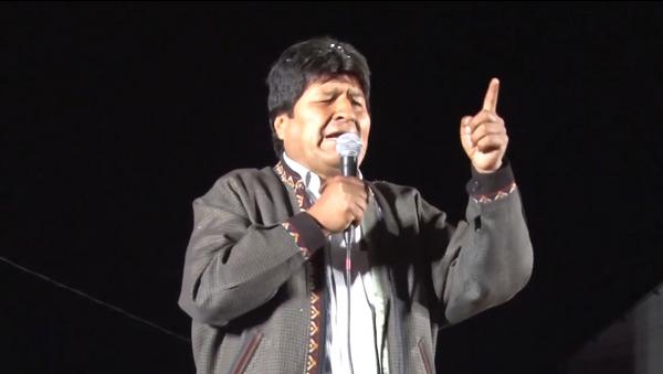 Protestas a favor y en contra de Evo Morales sacuden Bolivia (archivo) - Sputnik Mundo