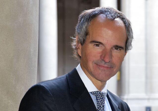 Rafael Grossi, director general del OIEA