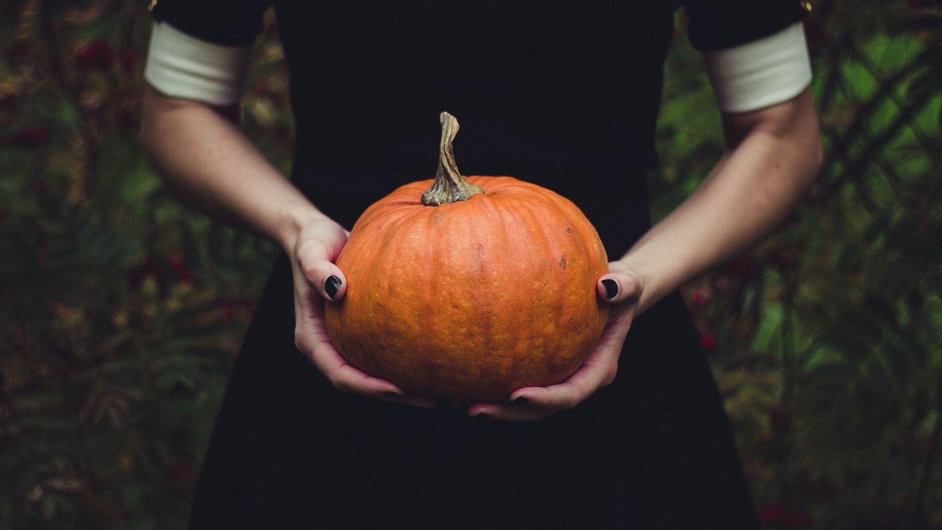 Halloween, calabaza - Sputnik Mundo, 1920, 09.09.2021