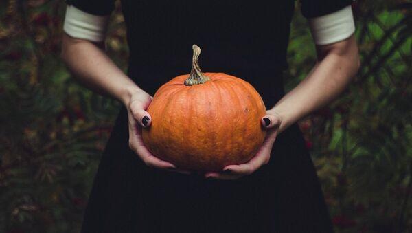 Halloween, calabaza - Sputnik Mundo
