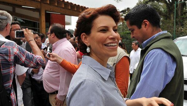 Karime Macías, esposa del exgobernador de Veracruz Javier Duarte - Sputnik Mundo