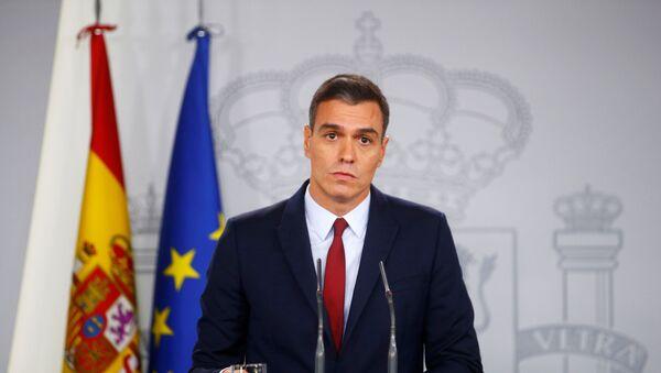 Pedro Sánchez, el presidente del Gobierno español en funciones - Sputnik Mundo