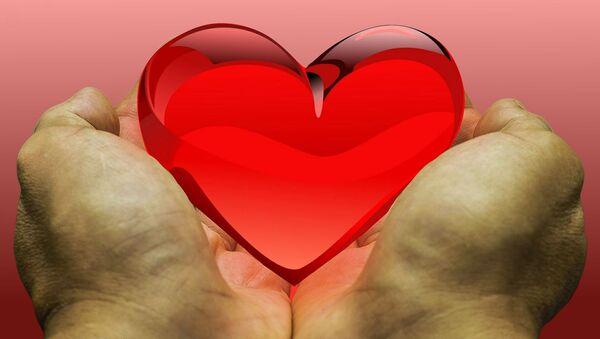 Un corazón en las manos (imagen referencial) - Sputnik Mundo
