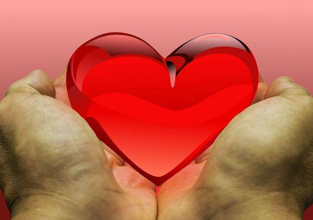 Un corazón en las manos (imagen referencial)