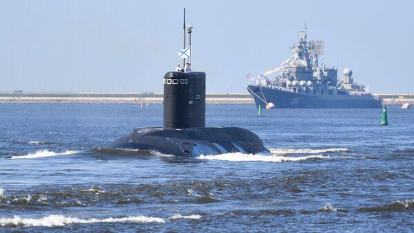 Un submarino ruso - Sputnik Mundo