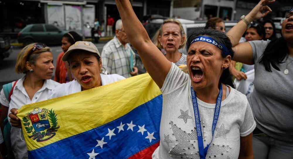 El paro en Venezuela (archivo)