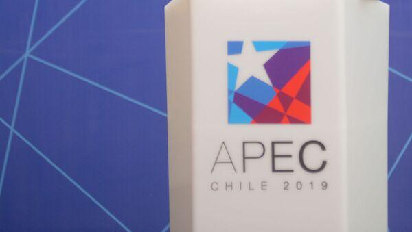 Logo de APEC 2019 en Chile - Sputnik Mundo