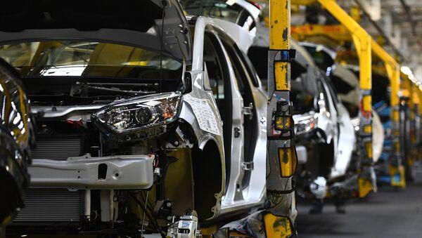 Una fábrica de coches - Sputnik Mundo