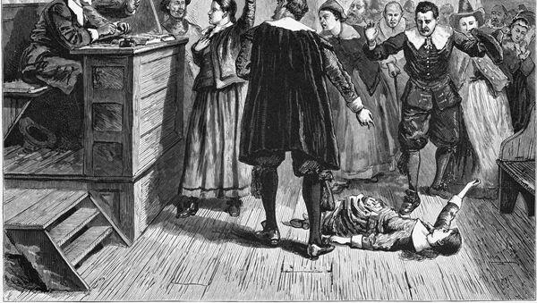 Ilustración de los juicios de Salem en 1692 - Sputnik Mundo