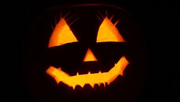 Una calabaza de Halloween - Sputnik Mundo