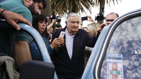 José 'Pepe' Mujica, el expresidente uruguayo  - Sputnik Mundo