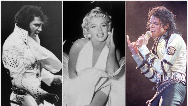 Elvis Presley, Marilyn Monroe y Michael Jackson - Sputnik Mundo