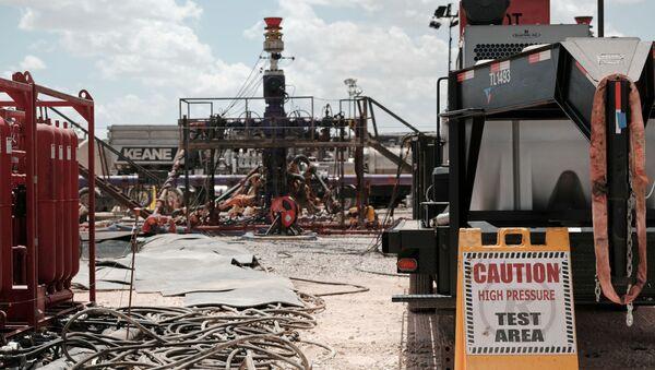 El 'fracking' (Archivo) - Sputnik Mundo