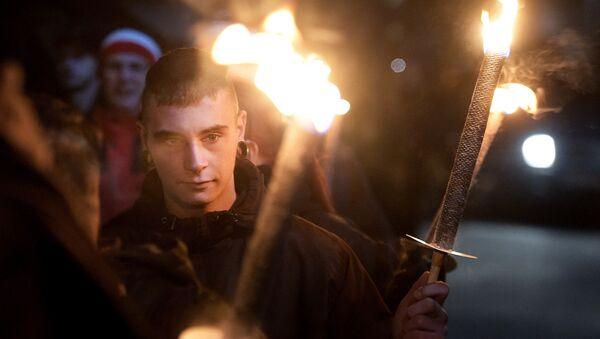 Una protesta de Pegida, foto de archivo - Sputnik Mundo