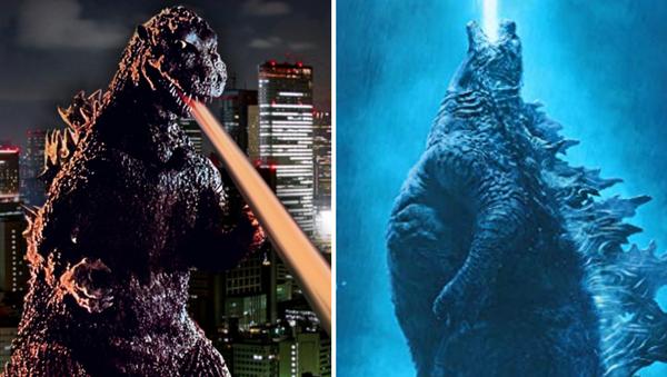 Godzilla en 1954 y en 2019 - Sputnik Mundo