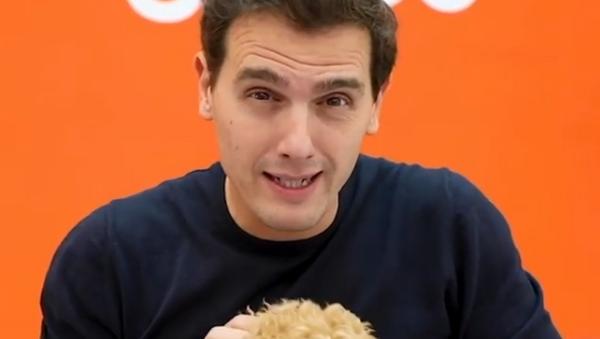 Albert Rivera, político español, durante un vídeo de camapaña para las elecciones generales de 2019 - Sputnik Mundo