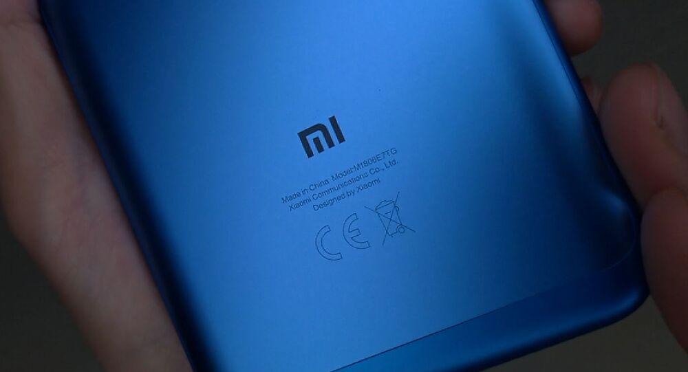Un teléfono inteligente de Xiaomi