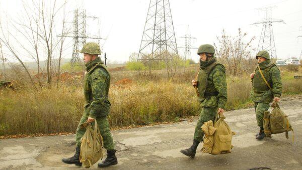 La retirada de las tropas en Donbás - Sputnik Mundo