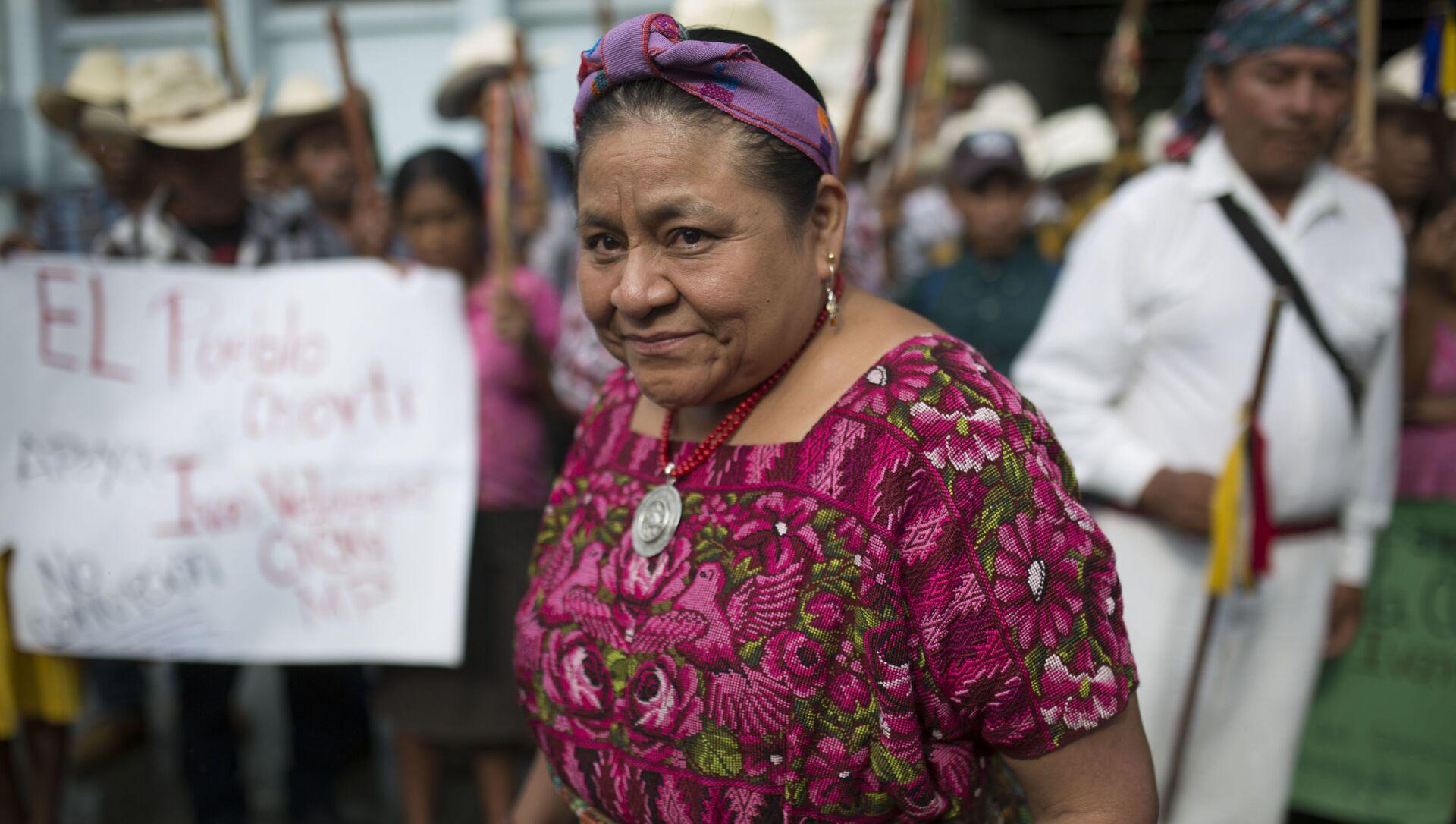 Rigoberta Menchú, la premio Nobel de la Paz guatemalteca  - Sputnik Mundo, 1920, 31.01.2020