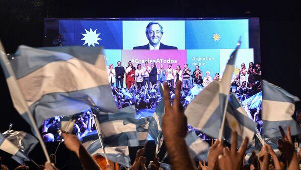 Las elecciones presidenciales en Argentina - Sputnik Mundo